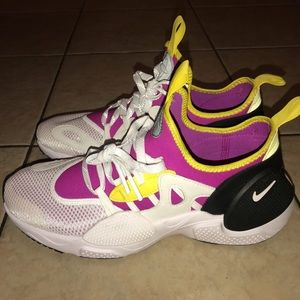 Lakers Purple and Yellow color-way Huarache Edge